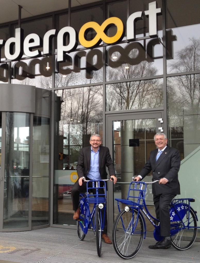 NoorderPoort, Groningen, Mondial Movers, verhuizer, fietsen