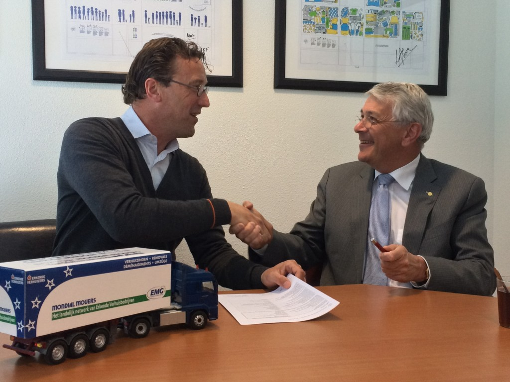 samenwerkingcontract sectorplan mondial movers transport logistiek