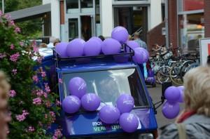 heideweek APE en ballonnen met Mondial Movers