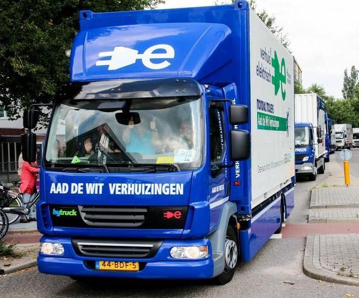 Eelektrisceh Verhuiswagen Mondial Movers