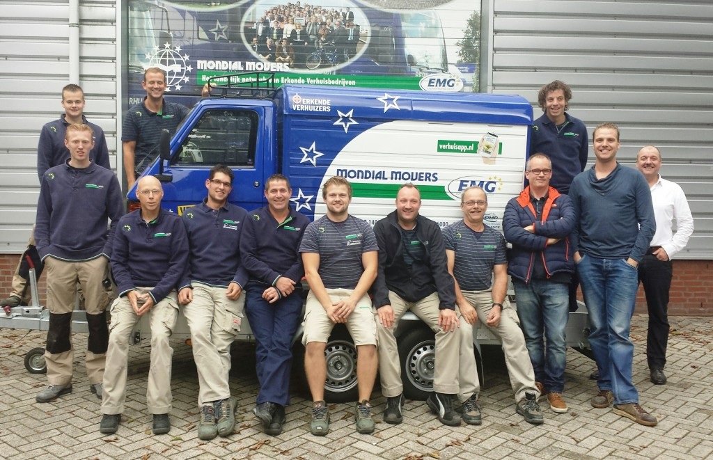 Projectverhuizing Mondial Movers