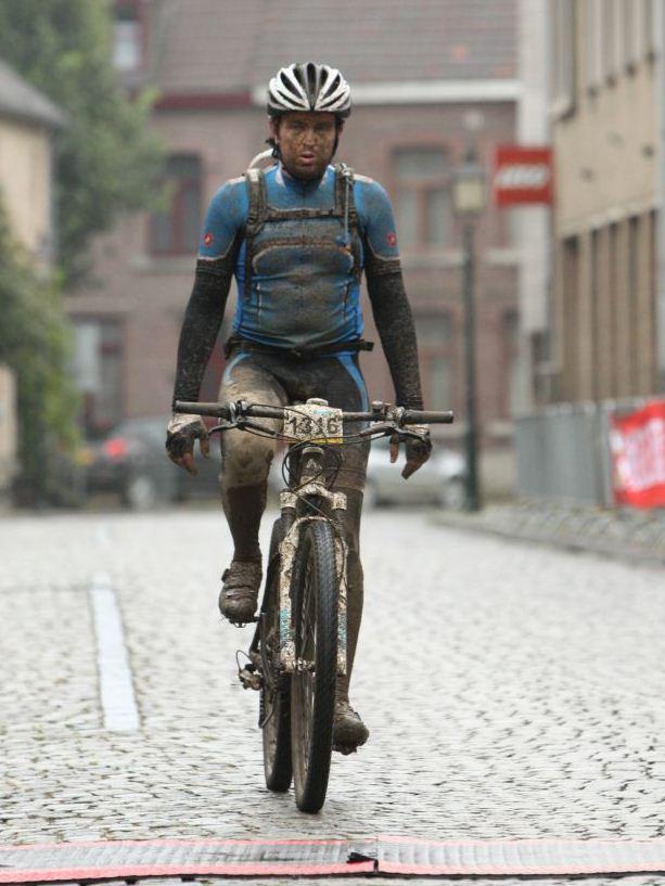 Mountainbiker Boy van der Veer