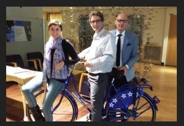Respect Zorggroep Mondial fiets