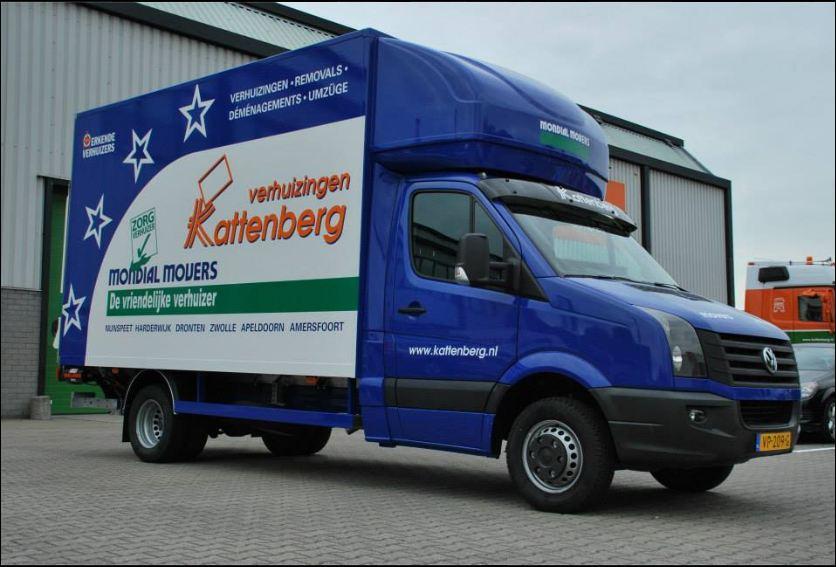 nieuwe verhuiswagen nunspeet volkswagen crafter mondial movers