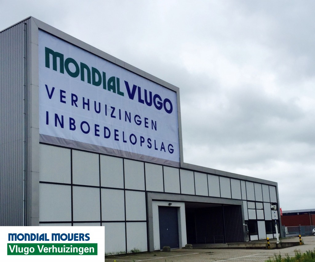 verhuizer spandoek mondial movers