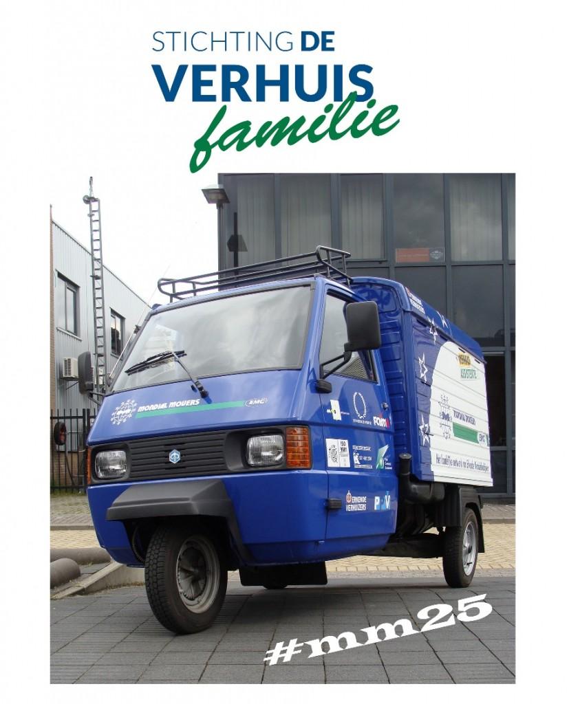 Verhuisfamilie donatie verhuizer mondial movers