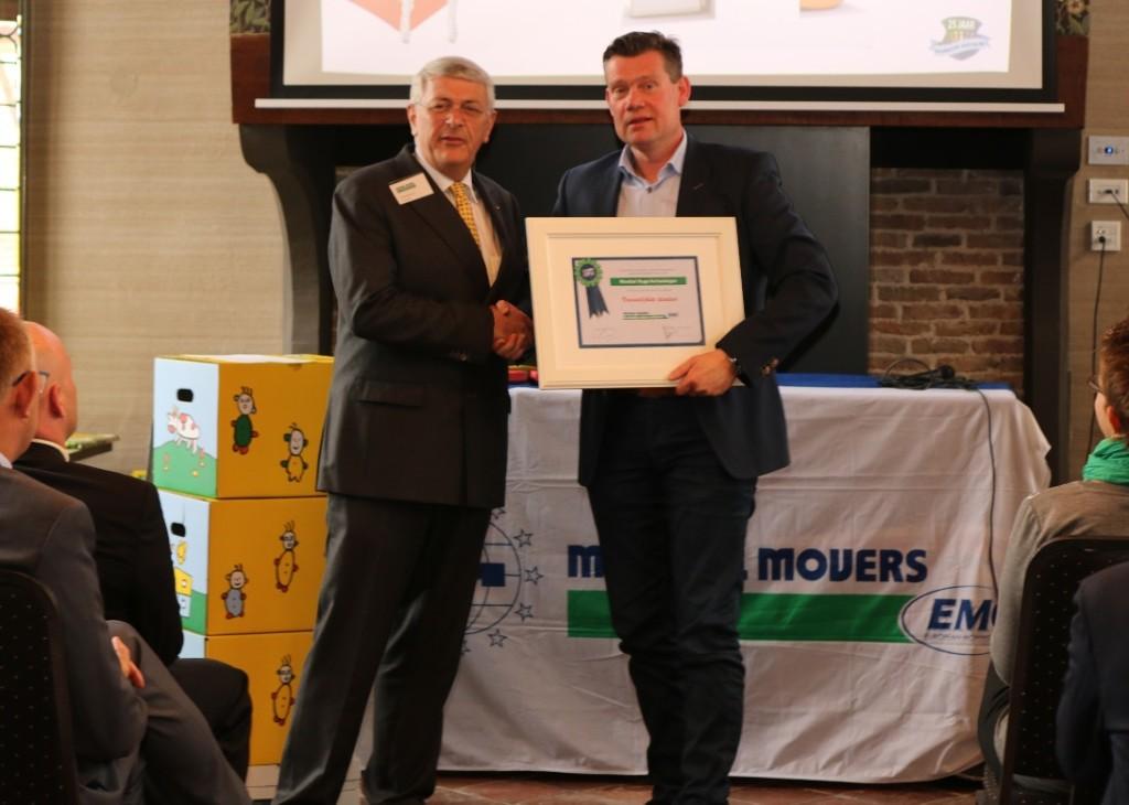 verhuisbedrijf mondial movers award vriendelijkste taxateur