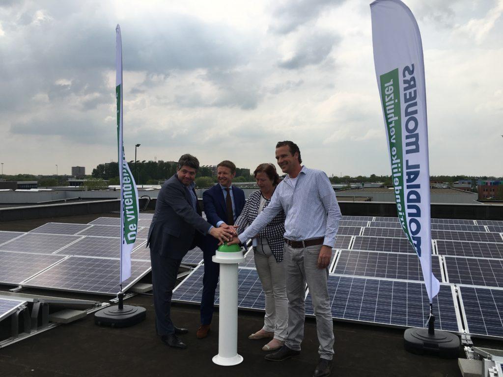 zonnepark mondial movers sliedrecht