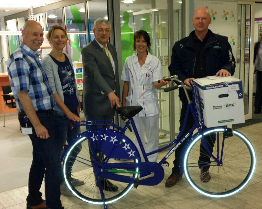 mondial fiets Martini Ziekenhuis