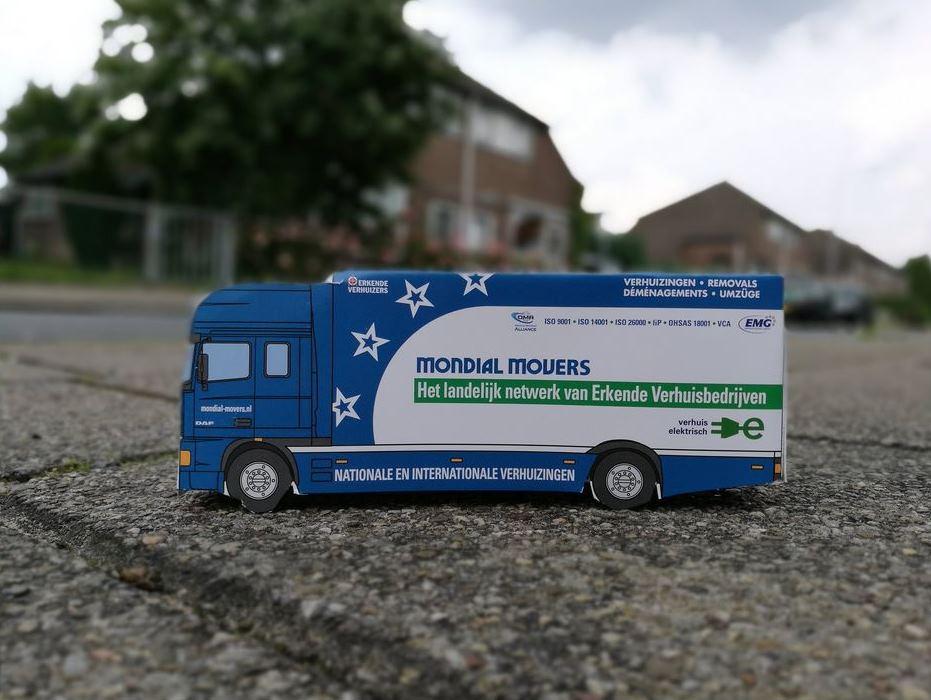 verhuiswagen mondial movers mvo duurzaam
