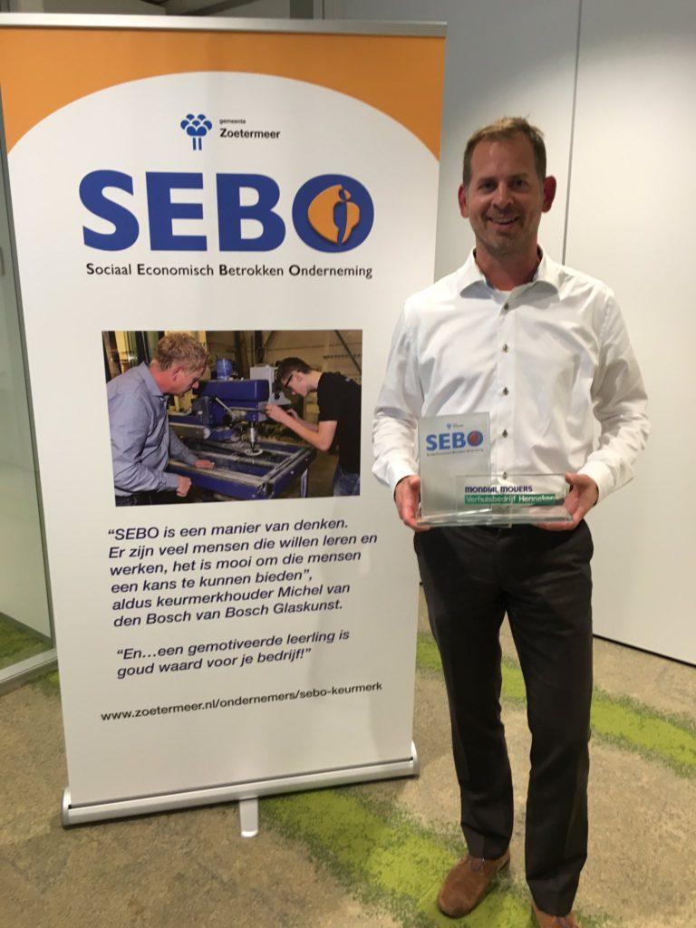 SEBO keurmerk verhuizer mondial verhuisbedrijf Henneken
