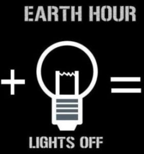 earth hour lamp