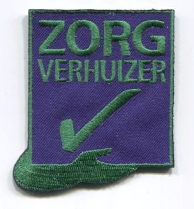 Badge Zorgverhuizer Mondial Movers