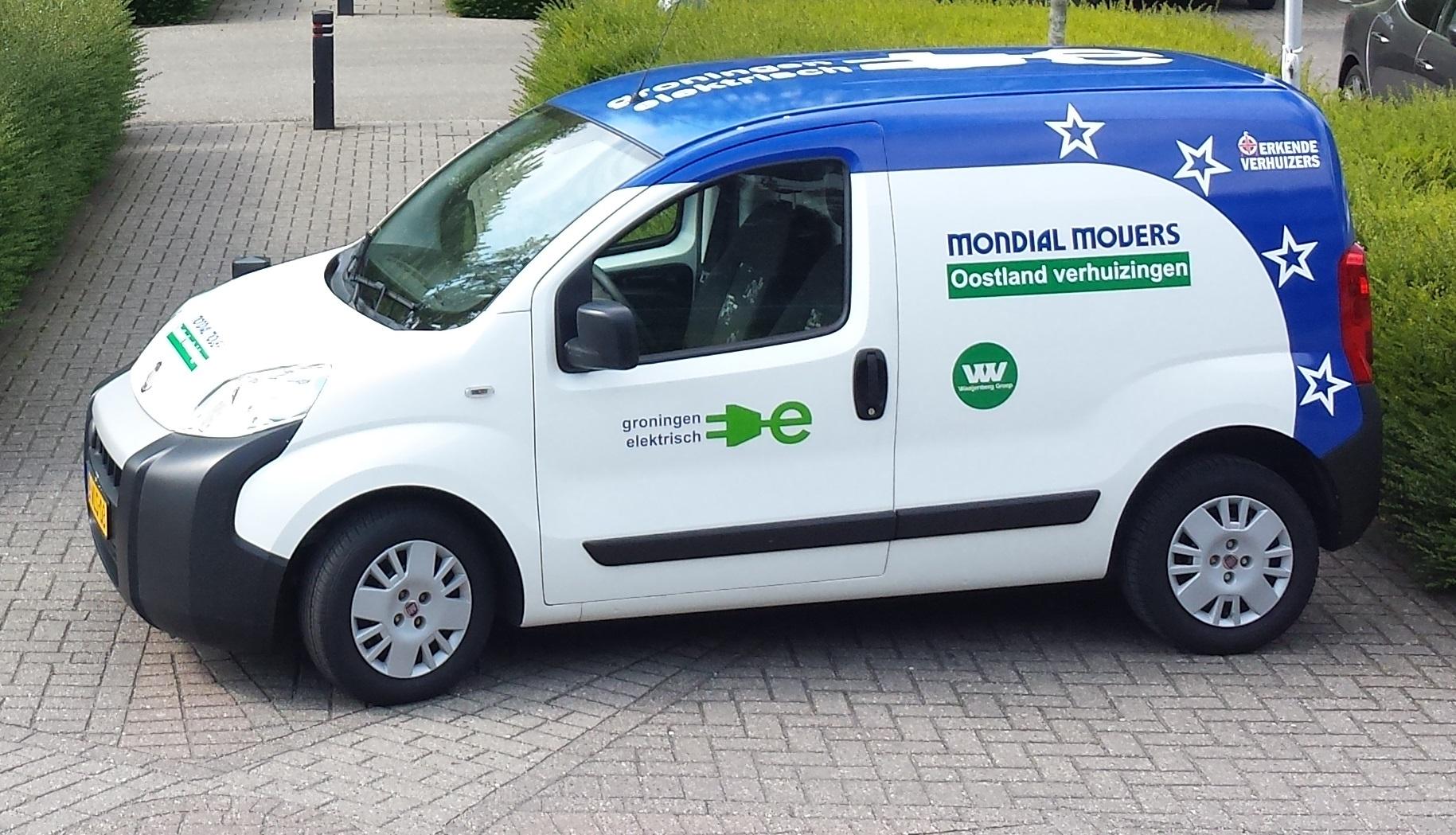 Groningen Elektrisch verhuizen Mondial