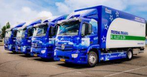 Elekrische verhuiswagens Mondial Movers Rotterdam