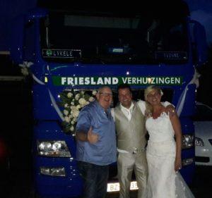 Lykele Trouwen Verhuiswagen Henk Wijngaard