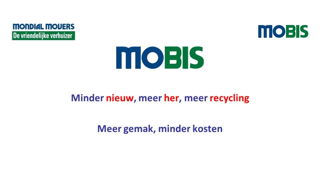 Circulaiere Economie - MoBis - Mondial Movers