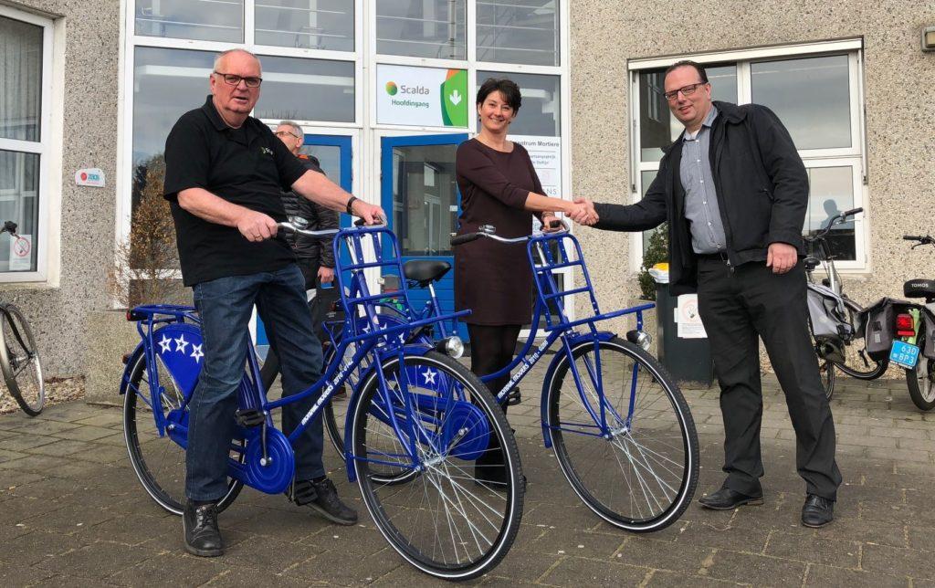 fiets voor Scalda