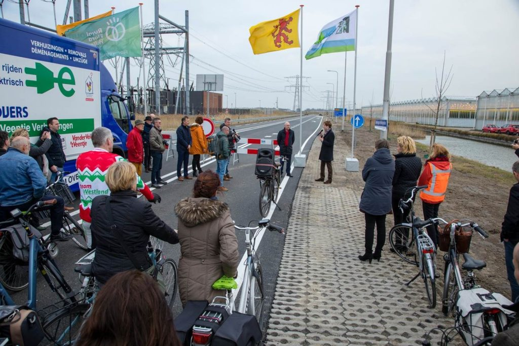 Opening Westlandroute
