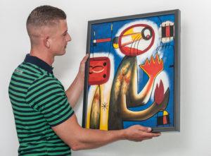 Verhuizen van kunst de opleiding Art Handler