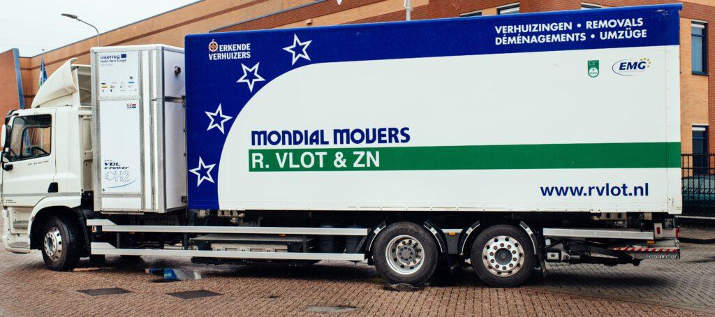 waterstofverhuiswagen