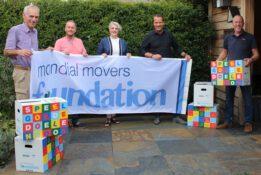 Speelgoededoelendoos Mondial Movers Foundation