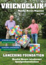 Voorpagina magazine Mondial Movers najaar 2020