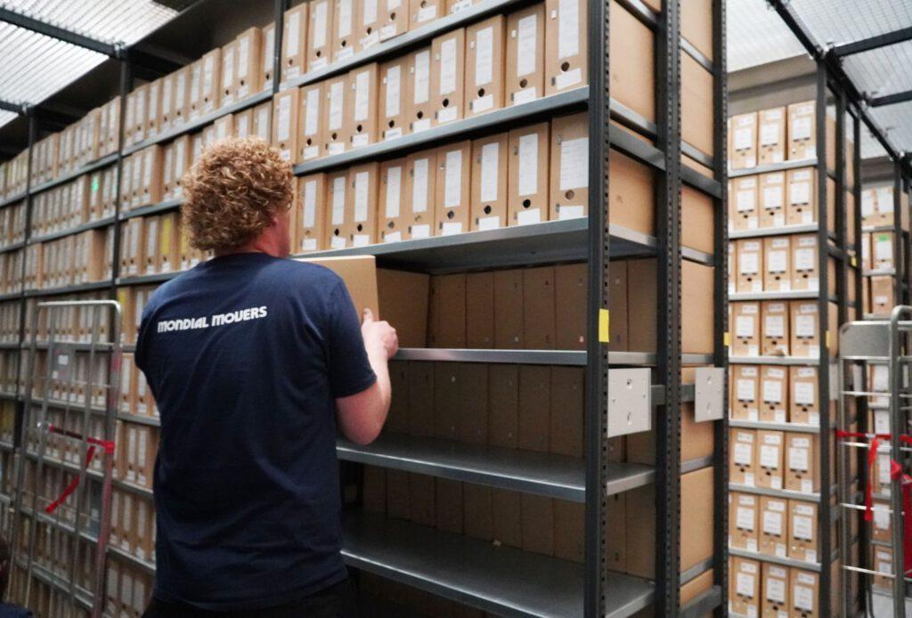zakelijke verhuizing archiefverhuizing