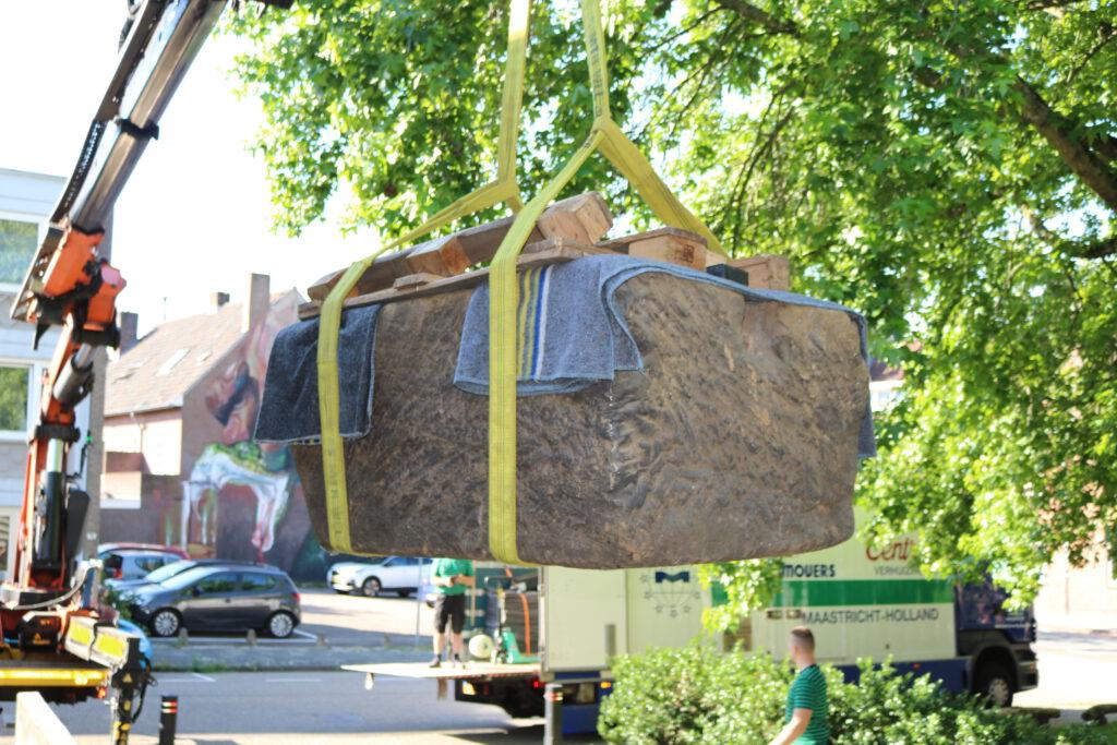 Verhuizing museale objecten Thermenmuseum Heerlen