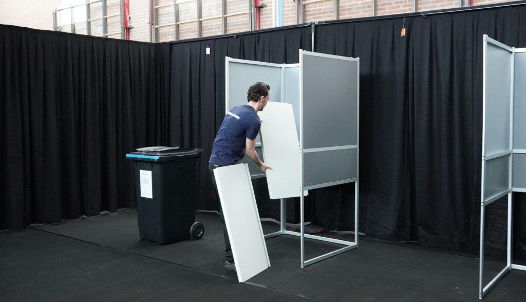 verkiezingen logistiek verhuisbedrijf
