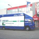 Mondial Aad de Wit verhuizingen, Verhuiswagen