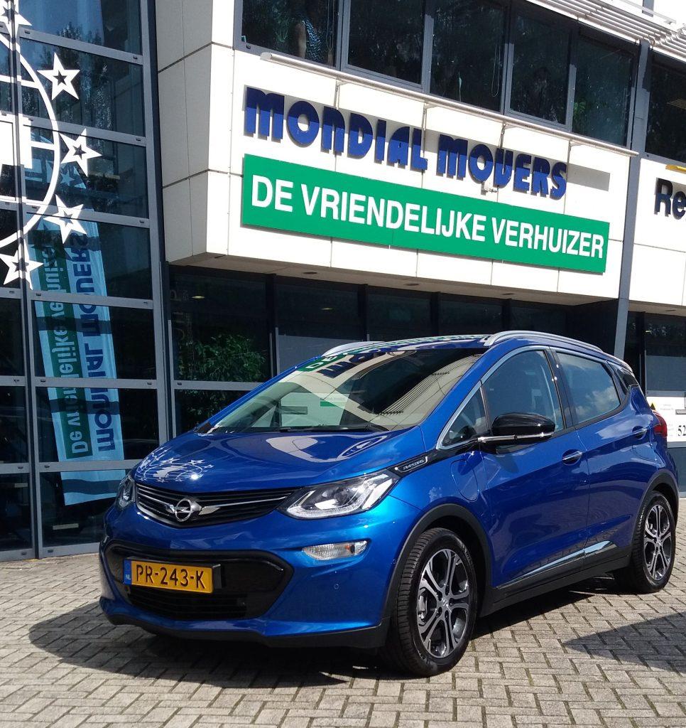 Mondial Movers Alblasserdam Opel Ampera-e