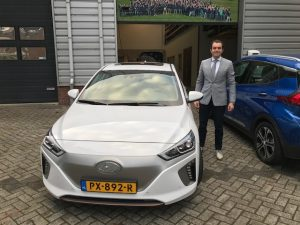 Hyundai Ionic Electric , Mondial Movers