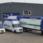 Verhuiswagen Mondial van Dijk verhuisbedrijf, verhuiswagen, Mondial Movers