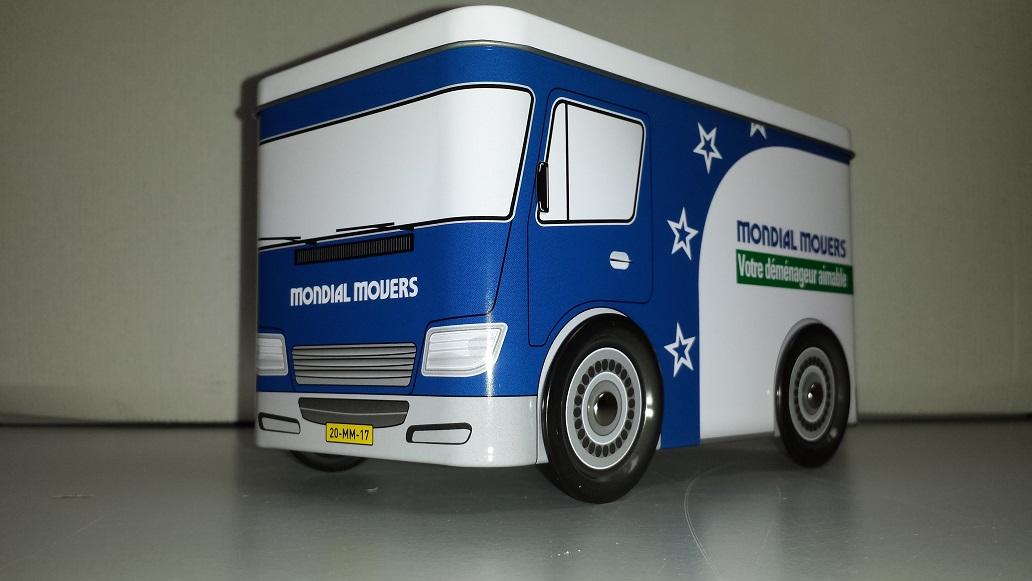 Koektrommel - verhuiswagen - Mondial Movers