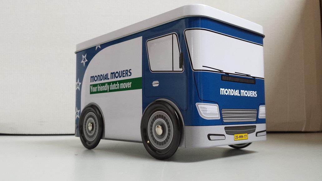 Koektroommel - Verhuiswagen