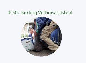 Mondial Movers Aanbieding 50 euro korting op Verhuisassistent voor Aegon klanten