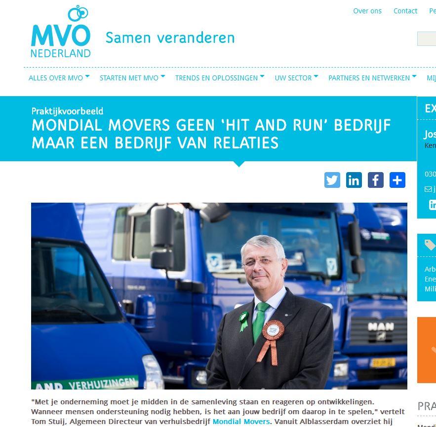 MVO Nieuwsbrief Mondial Movers