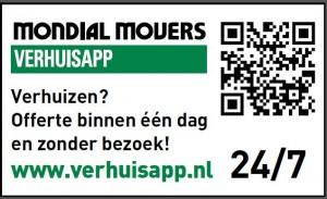 Verhuizen binnen Nederland met Mondial Movers