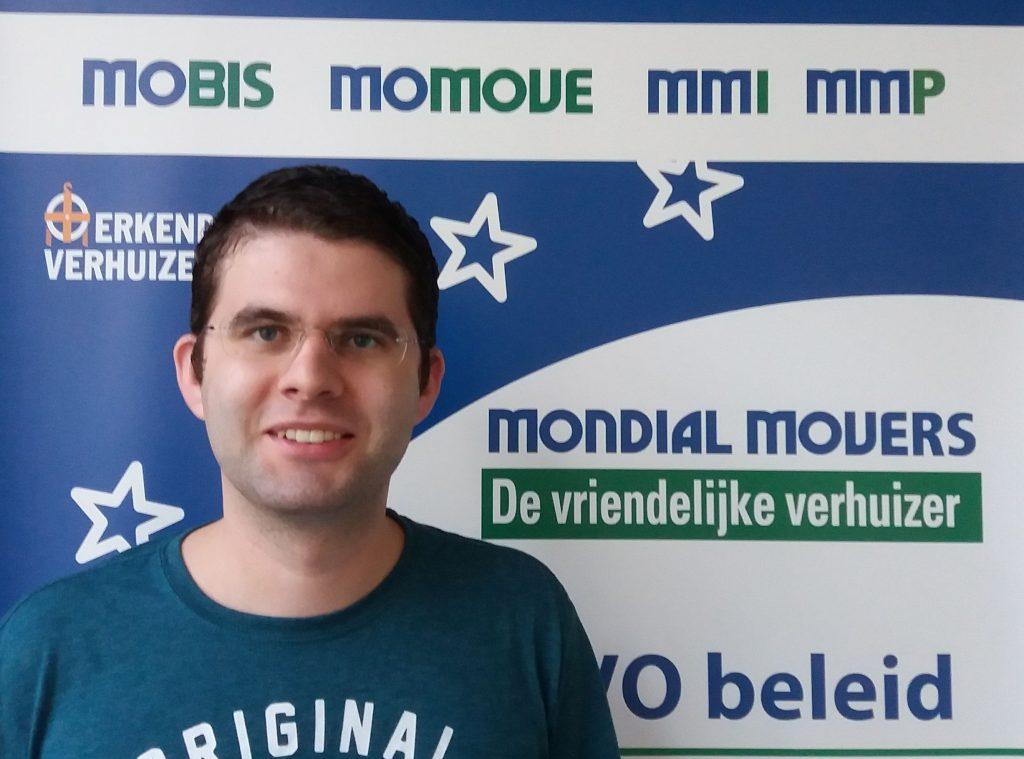 Rick Schuijff is aan de slag gegaan als medewerker bij Mondial Movers Alblasserdam.