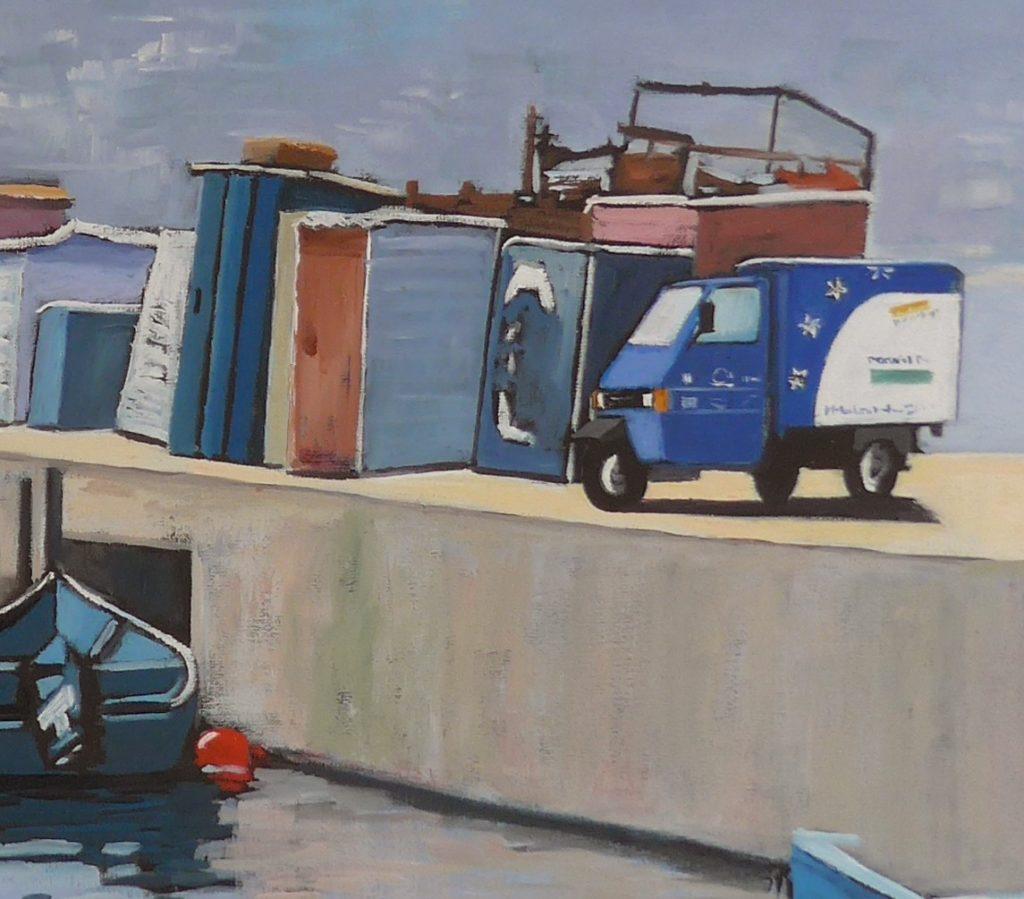 Schilderij Pauiline Bakker, Mondial Movers