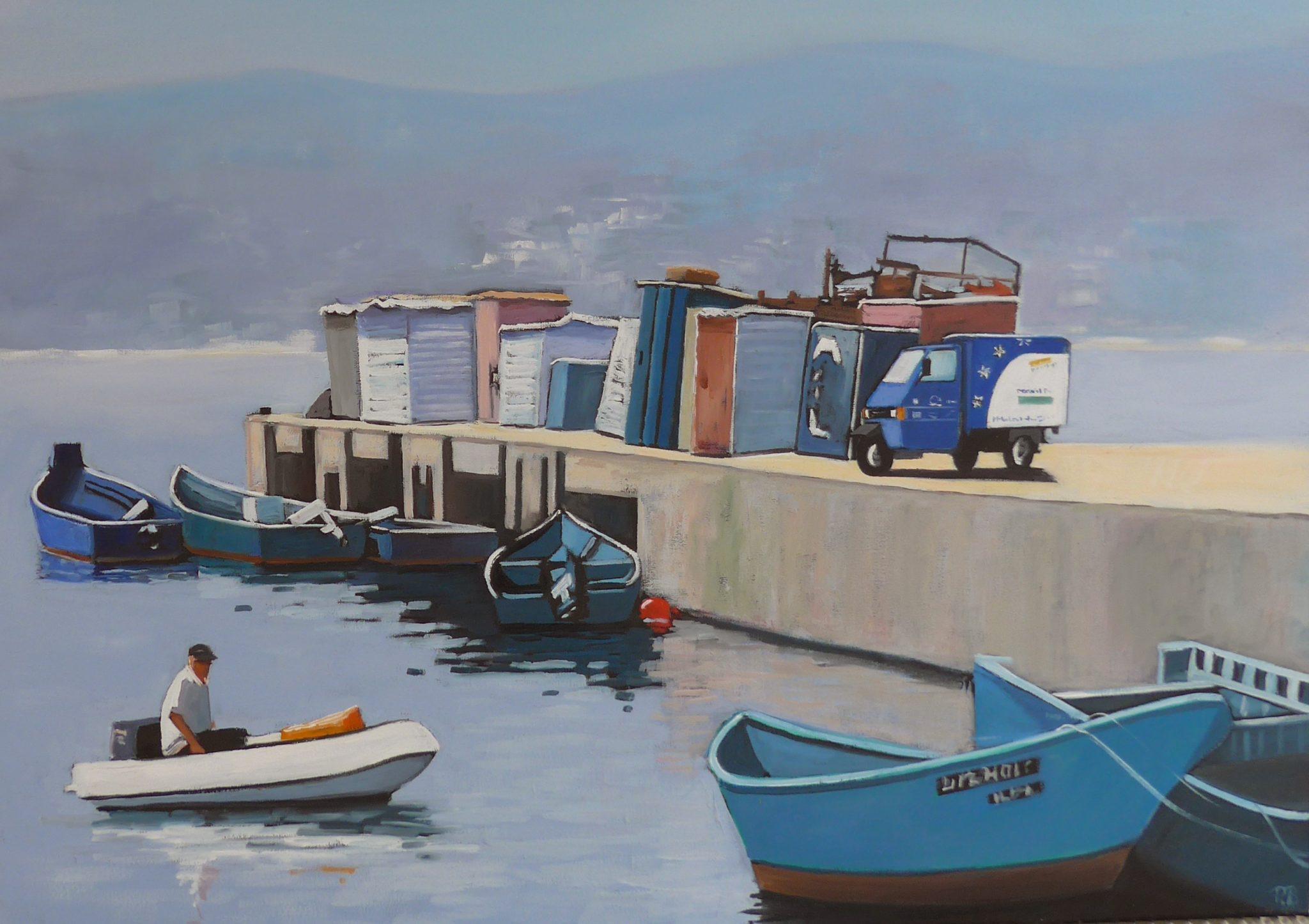Schilderij Pauline Bakker, Mondial Movers
