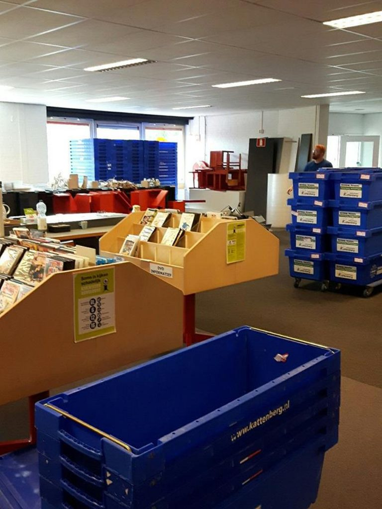 Verhuizing Mondial Kattenberg bibliotheek