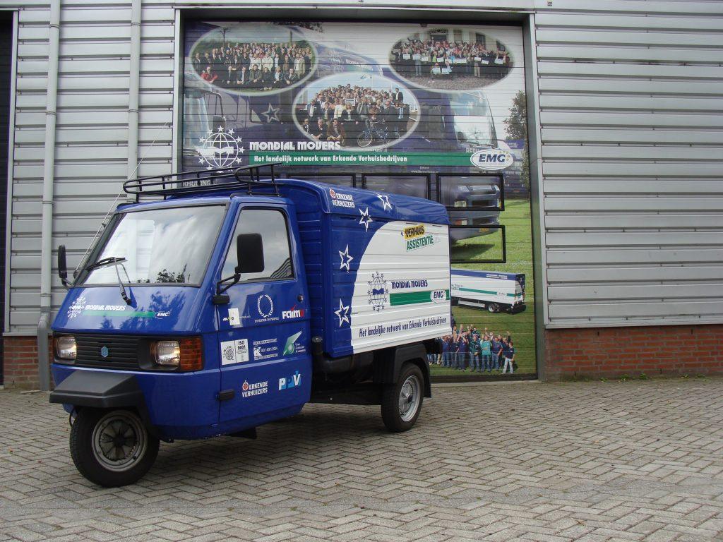 Mondial Vespa APE speciale verhuiswagen