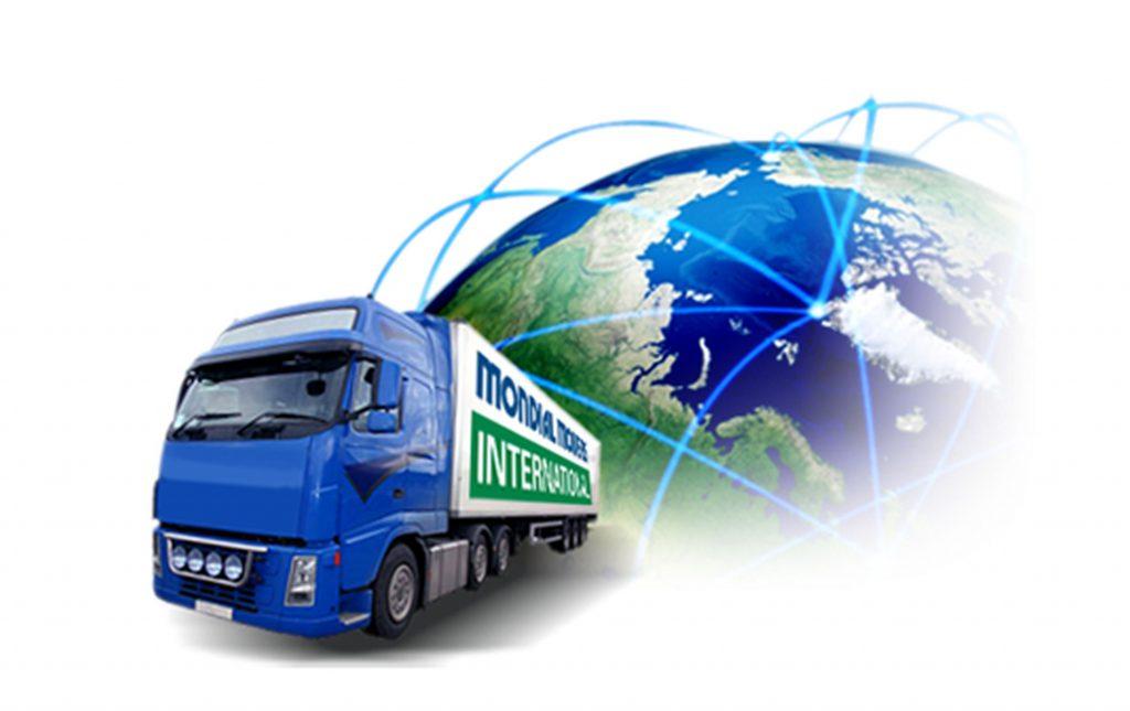 Verhuisbedrijf Mondial Movers International. overzicht ritten