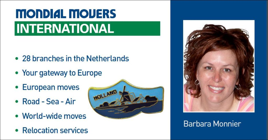 verhuisgroupagedienst Mondial Movers