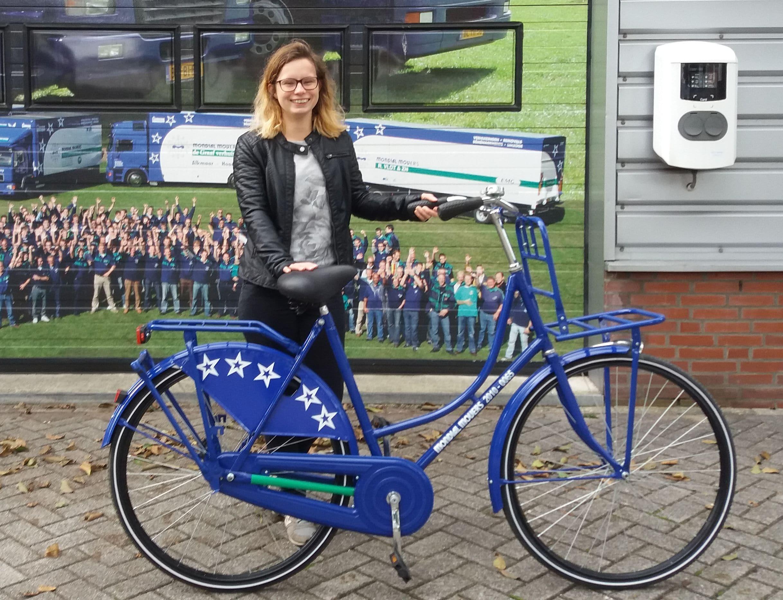 winnares Facebookactie Mondial fiets
