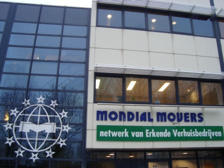 Mondial Movers bedrijfspand Alblasserdam