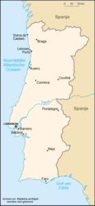 Landkaart Portugal, Verhuizen naar Portugal